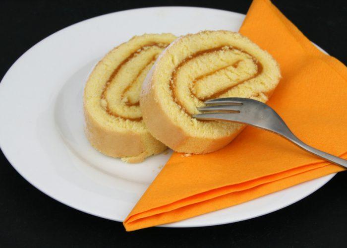 Marillenroulade / Rezepte / Rauchmühle / Rauchmehl