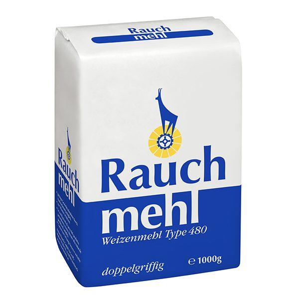 Weizenmehl Type 480 doppelgriffig blau - 1 kg - Unsere Mehle / Rauchmühle / Rauchmehl. Für Spatzln, Nudeln und Schlutzkrapfen