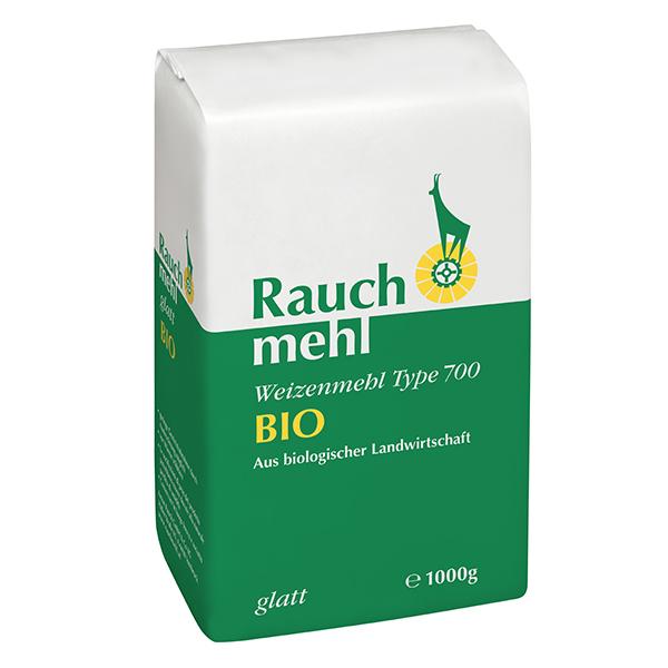 Weizenmehl Type 700 BIO - glatt - grün - aus biologischer Landwirtschaft - / Unsere Mehle / Rauchmühle / Rauchmehl. Geeignet für alle Mehlspeisen und Backwaren.