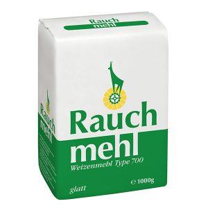 Weizenmehl Type 700 glatt - grün - Unsere Mehle / Rauchmühle / Rauchmehl - für Germteige, Mürbteige, Schmarren und gezogene Strudelteige