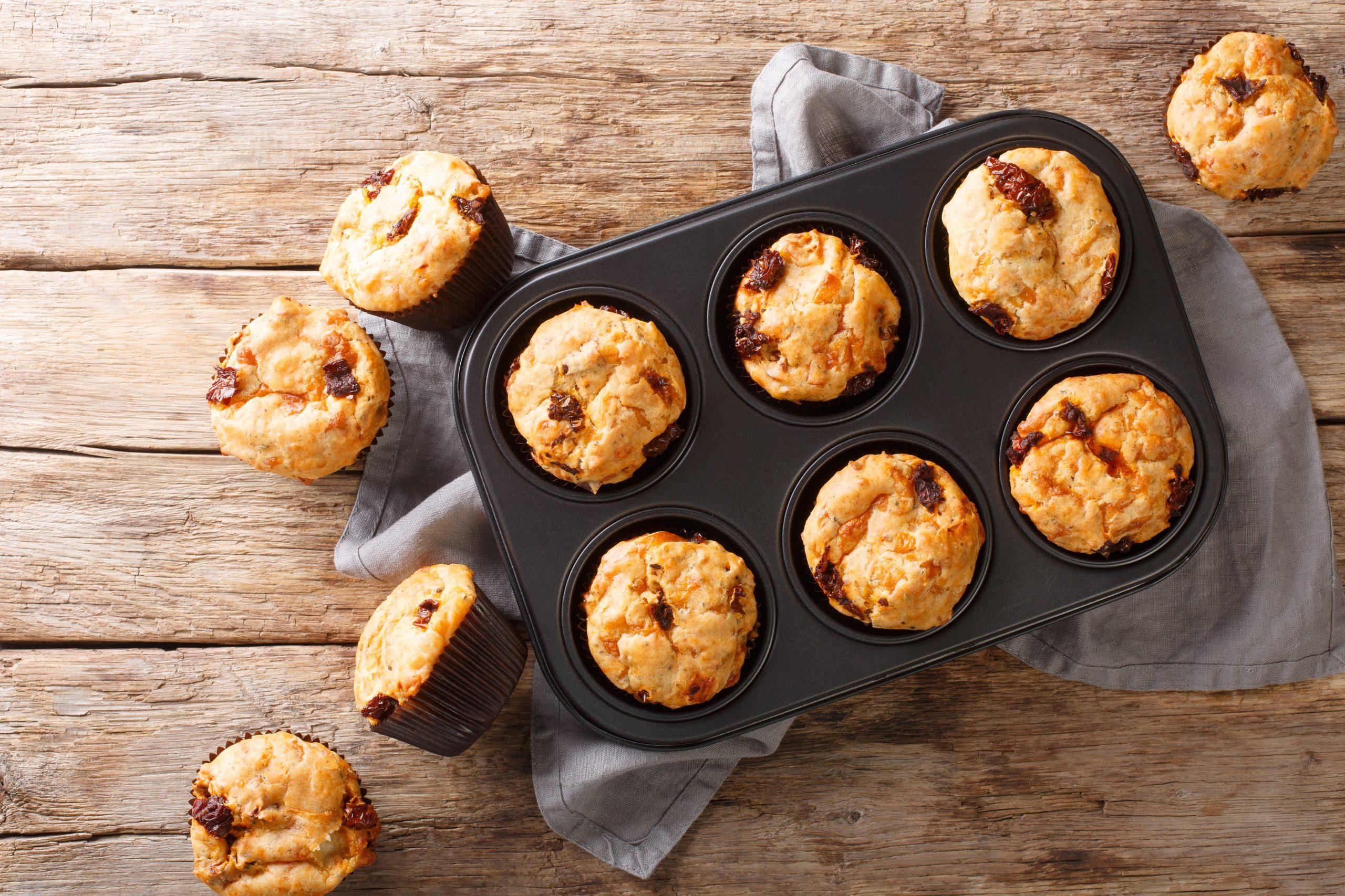 Muffins mit Tomaten / für das Sommerfest / Rauchmühle / Rauchmehl